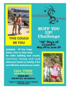 Buff You Up Challenge Photo